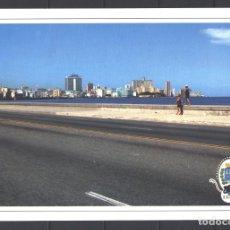 Sellos: CUBA 2017 MALECON EMBANKMENT - ARCHITECTURE. Lote 241501170