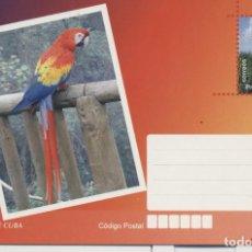 Sellos: CUBA 2017 PARROT - BIRDS. Lote 241501315