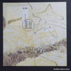 Sellos: MAXI TARJETA MÁXIMA GROENLANDIA - ARTE CONTEMPORÁNEO: GRAVADO DE ANNE BIRTHE HOVE, TASIILAQ 2007. Lote 244536355