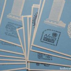 Sellos: LOTE DE 14 MÁXIMAS - ONU / NEW YORK SIÈGE DES NATIONS UNIES - GENÈVE PALAIS DES NATIONS / 1978. Lote 245083385