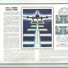 Sellos: EDITIONS CEF Nº 166 DIDIER DAURAT RAYMOND VANIER 1971. Lote 245884190