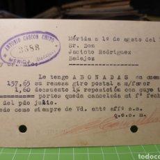 Selos: MERIDA .BADAJOZ 1935. Lote 246332775