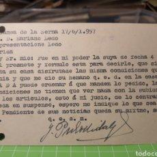 Selos: ZAPATERO DE LA SERENA .BADAJOZ 1957. Lote 246336965