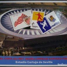 Francobolli: TARJETA PREPAGO: FINAL COPA 2020 DE FUTBOL EN LA CARTUJA (SEVILLA) ENTRE ATHLETIC Y REAL SOCIEDAD. Lote 251647865