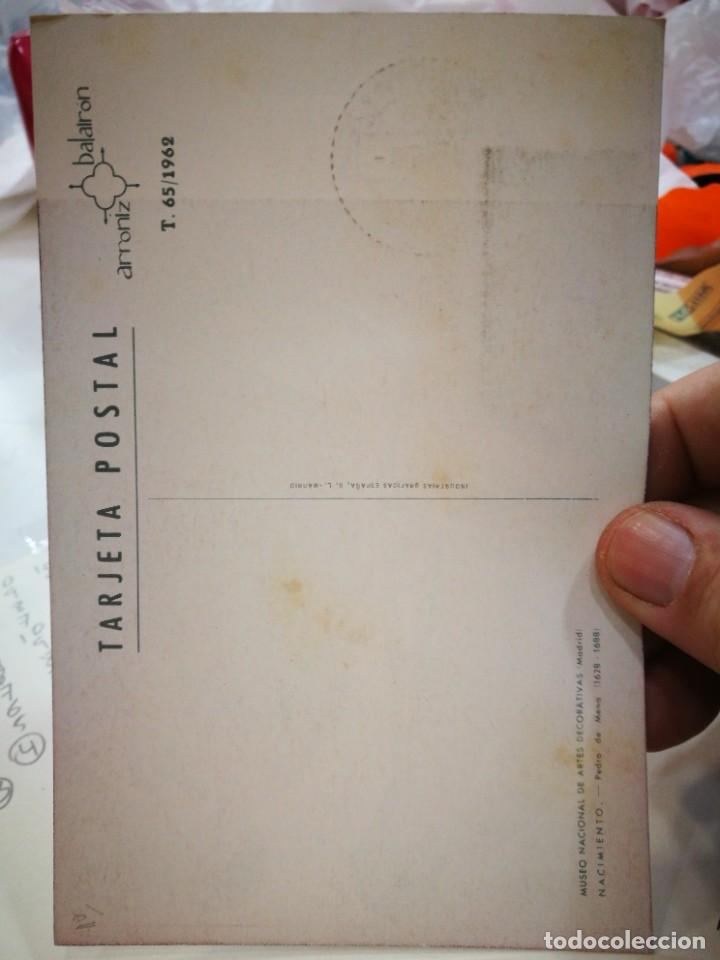 Sellos: Tarjeta Postal Primer día NAVIDAD 1962 - Foto 2 - 253894195