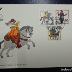 Sellos: TARJETA MAXIMA ALEMANIA 1989.. Lote 255004145