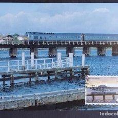 "Sellos: TARJETA MÁXIMA RAIL TREN NUEVA ZELANDA - ""THE KAIMAI EXPRESS"" AUCKLAND - TAURANGA, WANGUANI 1997. Lote 255006185"