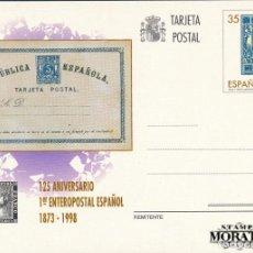 Francobolli: 1998 ESPAÑA ED J-167 TARJETAS ANIVERSARIO ENTERO POSTALES **MNH PERFECTO ESTADO, NUEVO SIN CHARNELA. Lote 258287255
