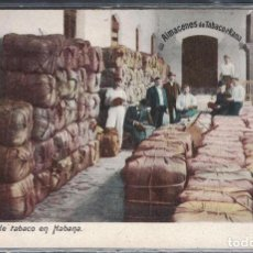 Sellos: CUBA 1910 TOBACCO WAREHOUSE IN HAVANA - TOBACCO. Lote 260571010