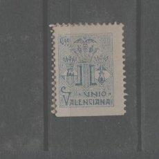 Francobolli: LOTE (7) VIÑETA SELLOUNION VALENCIANA VALENCIA. Lote 279359418