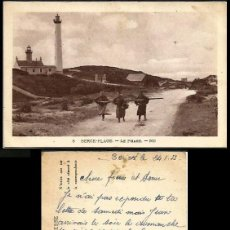 Sellos: FRANCIA 1933 FARO BERK-PLAGE. Lote 262377305