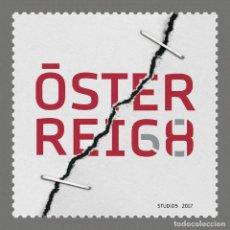 Sellos: AUSTRIA 2017 - AUSBLICK 2050 - VISIONEN VON ÖSTERREICHS ZUKUNFT MNH. Lote 262634925