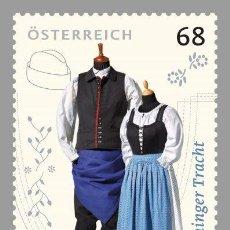 Sellos: AUSTRIA 2017 - PÖTTSCHINGER TRACHT MNH. Lote 262637085