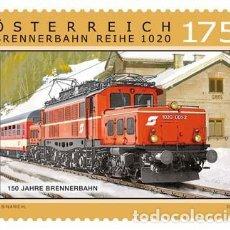 Sellos: AUSTRIA 2017 - 150 JAHRE BRENNERBAHN MNH. Lote 262641835