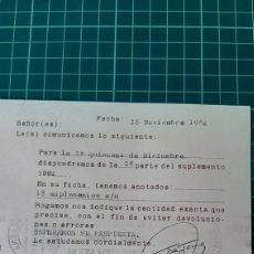 Sellos: RODILLO TARJETA POSTAL VILLENA ALICANTE. Lote 269040793
