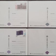 Sellos: 4 TARJETAS DE CORREOS - DEL AÑO 1999 EDIFIL Nº 55 + 56 + 63 + 64 - VER 2 FOTOS. Lote 269438928