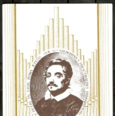 Timbres: MÁXIMA. GIROLAMO FRESCOBALDI. MÚSICO BARROCO. Lote 273435263