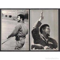 Sellos: CUBA 1990 COMANDANTE CHE - 2 PHOTOS - CHE GUEVARA. Lote 274736388