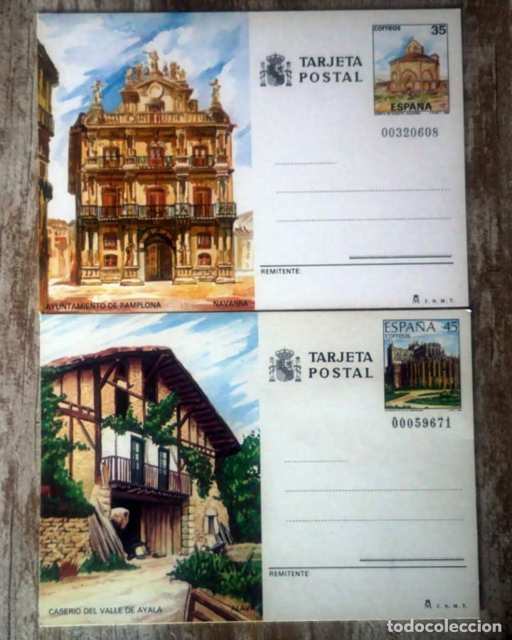 LOTE 2 TARJETAS POSTALES (VER LAS FOTOS) (Sellos - España - Tarjetas)