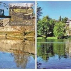 Sellos: BOSNIA HERZEGOVINA 2017 - BANJA LUKA EUROPA 2017 - CASTLES CARTE MAXIMUM SET. Lote 284618163