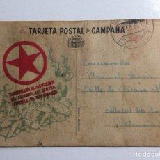 Francobolli: TARJETA POSTAL DE CAMPAÑA. COMISARIADO DE INSPECCIÓN DEL EJÉRCITO DEL CENTRO. 1939. Lote 285412208