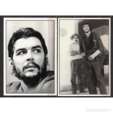 Sellos: CUBA 2010 CUBAN REVOLUTIONARIES - CHE, FIDEL - 7 CARDS - FAMOUS PEOPLE. Lote 289944848