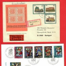 Sellos: LOTE SOBRES ALEMANIA - GERMANY - DDR - LUXEMBURGO LUXEMBOURG CARITAS 1972. Lote 290992173