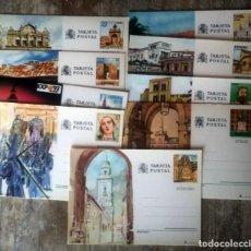 Sellos: LOTE DE 9 TARJETAS POSTALES SELLOS ESPAÑA NUEVAS. Lote 291941343