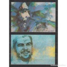 Sellos: O-CH6 CUBA 1990 COMANDANTE CHE - 4 КАРТОЧКИ. Lote 293388318
