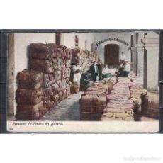 Sellos: K-TAB CUBA 1910 TOBACCO WAREHOUSE IN HAVANA. Lote 293394573