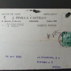 Sellos: TARJETA POSTAL 1950.LA CONCHITA. J PINILLA CASTILLO. Lote 293992243