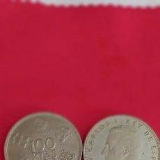Sellos: MONEDA DE 100 PESETAS REY JUAN CARLOS 1980* 82. Lote 294859763