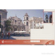 Sellos: CUBA 2017 HAVANA CATHEDRAL SQUARE - ARCHITECTURE. Lote 295950723