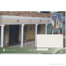 Sellos: CUBA 2017 SANTA CLARA TRINIDAD - ARCHITECTURE. Lote 295950738