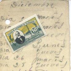 Sellos: + COLEGIO DE HUERFANOS DE TELEGRAFOS 1944. Lote 5618112