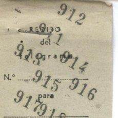 Sellos: + COLEGIO DE HUERFANOS DE TELEGRAFOS 1953. Lote 5618113