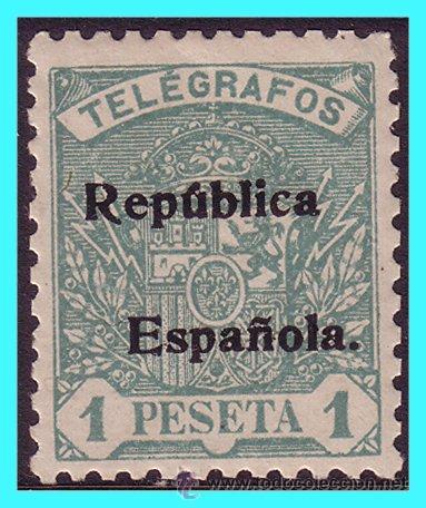 TELÉGRAFOS 1931 SELLOS ANTERIORES HABILITADOS, EDIFIL Nº 67 * (Sellos - España - Telégrafos)