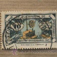 Sellos: VIÑETA COLEGIO DE HUÉRFANOS DE TELÉGRAFOS. 1855-1943. 88º ANIVERSARIO.. Lote 30371477