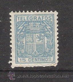 ESPAÑA 1932 - TELEGRAFOS - EDIFIL 70 (Sellos - España - Telégrafos)