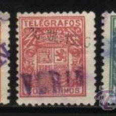 Sellos: S-4947- SELLOS DE TELEGRAFOS DE 1932-1936. ESCUDO DE ESPAÑA . Lote 32095581