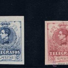 Sellos: TELEGRAFO EDIFIL 53(*)-54S(*). Lote 49511198