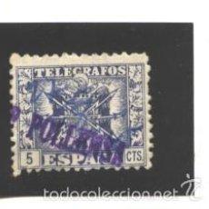 Francobolli: ESPAÑA 1940-42 - EDIFIL NRO. 76 TELEGRAFOS - USADO. Lote 57790141