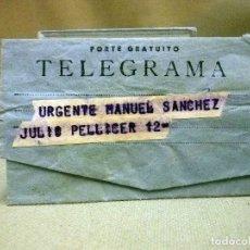 Sellos: ANTIGUO TELEGRAMA, CORDOBA, VALENCIA 1977. Lote 66951982
