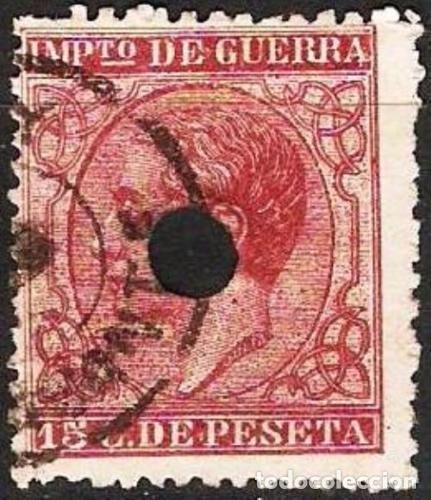 EDIFIL Nº 188T 15C. CARMIN TELEGRAFOS ( 15,00 € ) (Sellos - España - Telégrafos)
