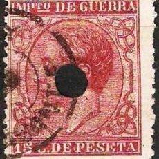 Sellos: EDIFIL Nº 188T 15C. CARMIN TELEGRAFOS ( 15,00 € ). Lote 68365905