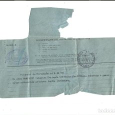 Sellos: TELEGRAMA VALENCIA. 5 DE DICIEMBRE DE 1963.. Lote 88884296
