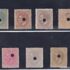 Sellos: TELEGRAFOS. EDIFIL 201T-203T-205T/209T ALFONSO XII. Lote 92793970