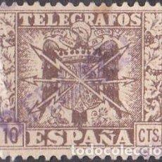 Sellos: 1949 - ESCUDO DE ESPAÑA - 10 CTS - EDIFIL 86. Lote 93379210