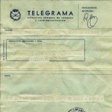 Sellos: ESPAÑA TELEGRAMA - ACADEMIA MILITAR DE ZARAGOZA - 1975. Lote 96177847
