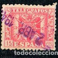 Sellos: EDIFIL TELEGRAFOS Nº 78, ESCUDO AGUILA FRANQUISTA . Lote 120836411